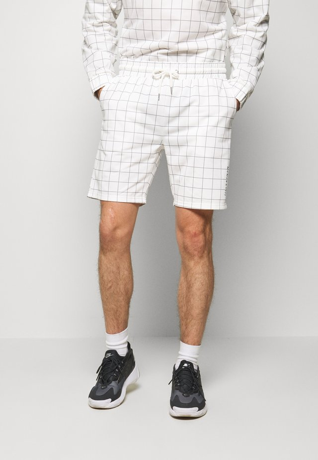 WINDOWPANE - Pantaloni sportivi - white