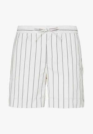 STRIPE PULL ON - Shorts - off-white
