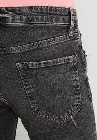 Topman - ARMANDO RIP - Jeans Skinny Fit - black - 3