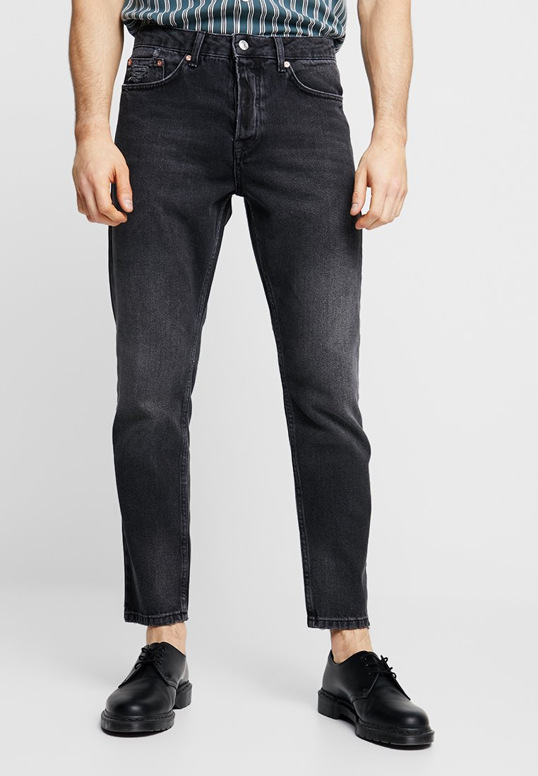 Topman - MEEKS RIGID - Jeans Tapered Fit - black