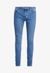 Topman - BLUE JEANS SKINNY FIT - Jeans Skinny Fit - blue - 4