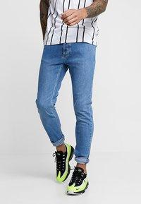Topman - BLUE JEANS SKINNY FIT - Jeans Skinny Fit - blue - 0