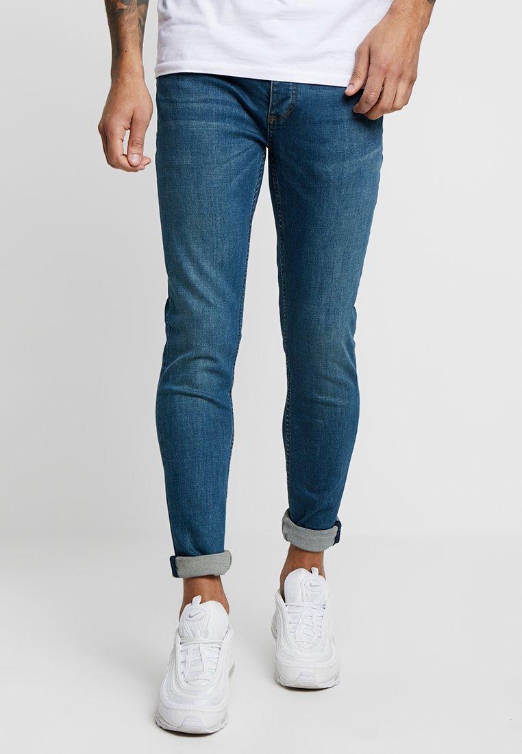 Topman - MID WASH  - Jeans Skinny Fit - mid wash
