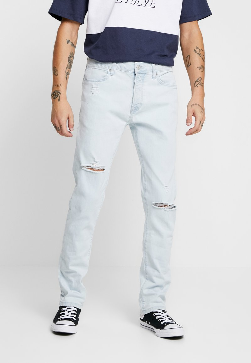 Topman - BLEACH RIP KAI - Jeans Slim Fit - light wash