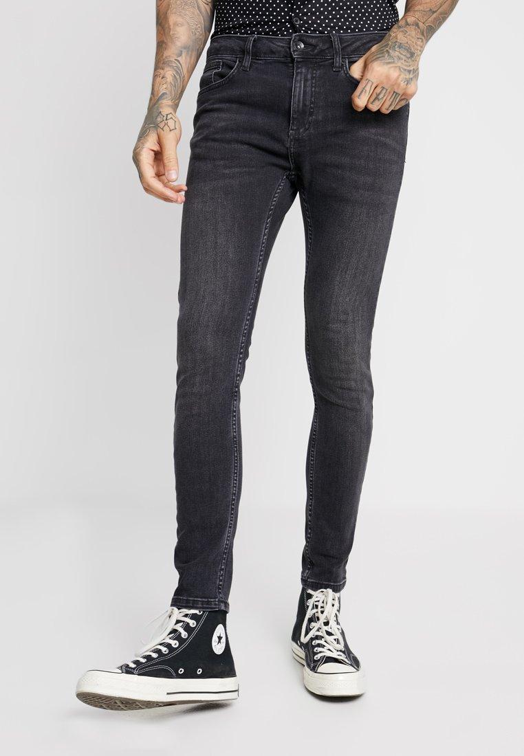 Topman - FLOYD SPRAY ON - Jeans Skinny Fit - black