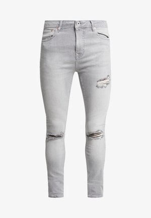 JONO RIPPED SPRAY - Jeans Skinny - grey