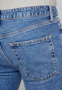 Topman - STRETCH SKINNY - Jeans Skinny Fit - blue denim - 3