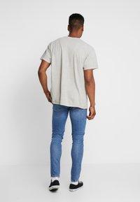 Topman - STRETCH SKINNY - Jeans Skinny Fit - blue denim - 2