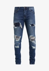 Topman - EXTREME BLOW - Jeans Skinny Fit - blue - 3