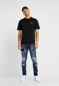 Topman - EXTREME BLOW - Jeans Skinny Fit - blue - 1