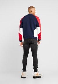 Topman - EXTREME BLOW - Jeans Skinny Fit - black - 2