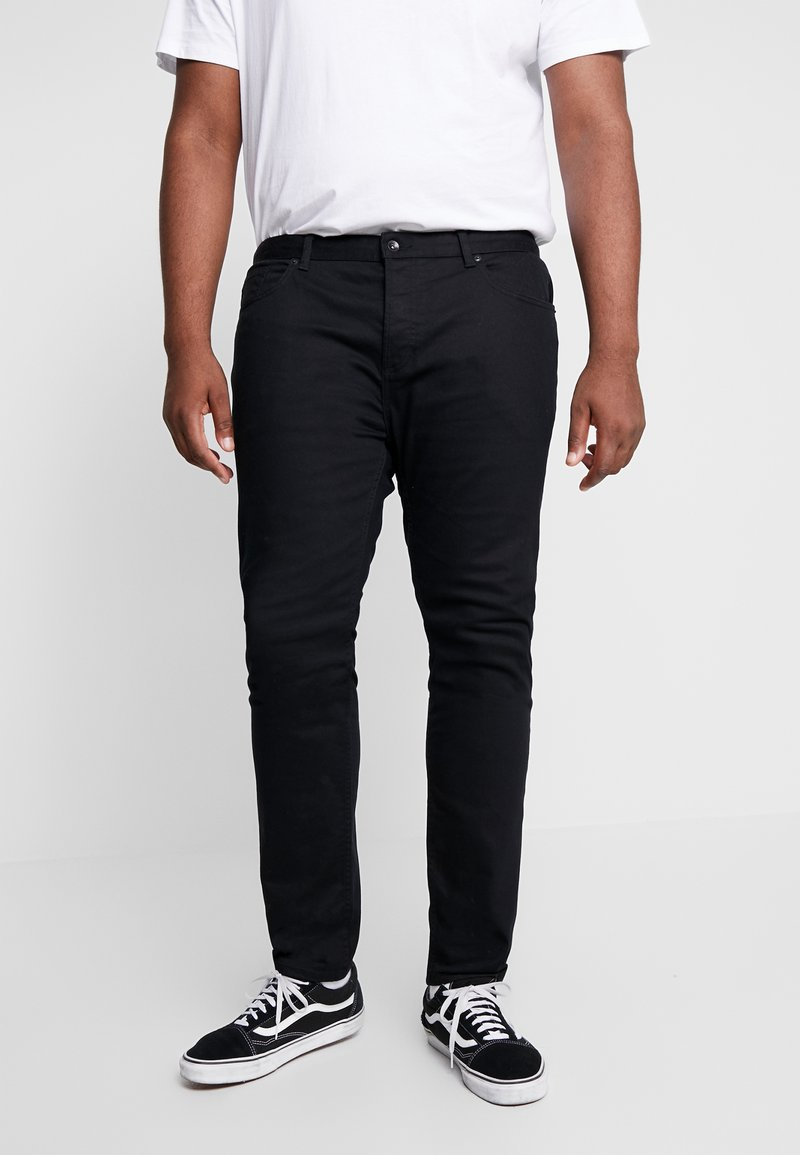 Topman - MORGAN  - Jeansy Slim Fit - black