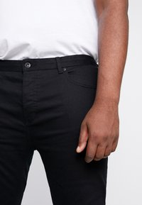 Topman - MORGAN  - Jeansy Slim Fit - black - 4