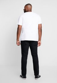 Topman - MORGAN  - Jeansy Slim Fit - black - 2