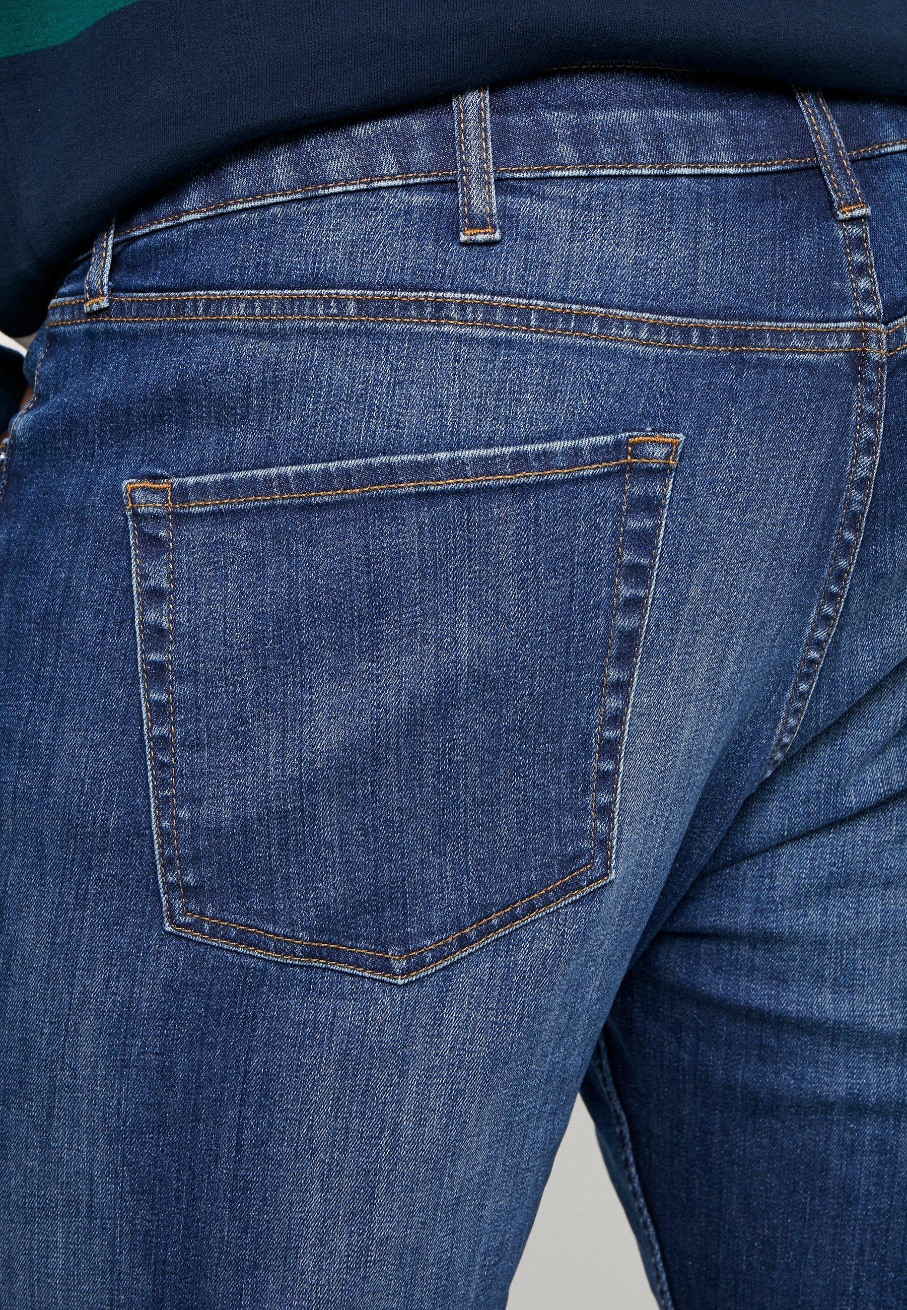 Topman Bright Hendrix - Jeans Slim Fit Mid Wash
