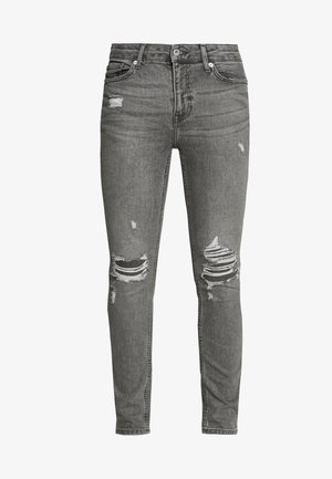 MULTI RIP SPRAY - Jeans Skinny Fit - grey