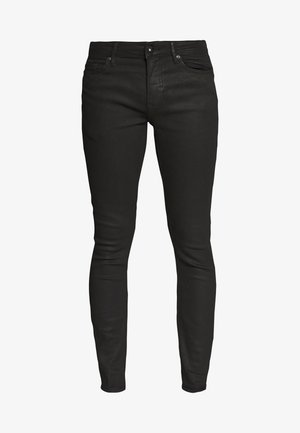 COATED SPRAY ON - Skinny-Farkut - black