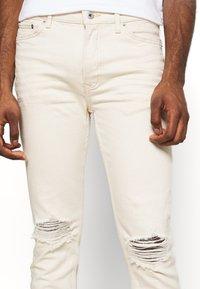 Topman - ECRU - Jeans Skinny Fit - ecru - 4