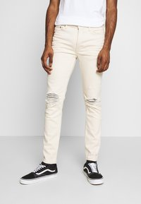 Topman - ECRU - Jeans Skinny Fit - ecru - 0