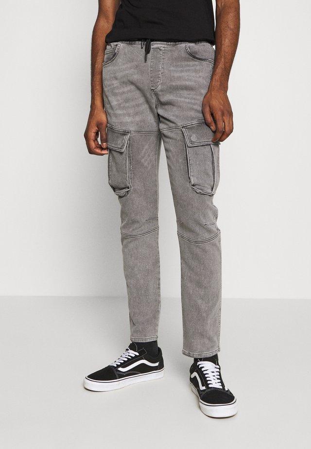 AUTHENTIC JOGGER - Pantaloni cargo - grey