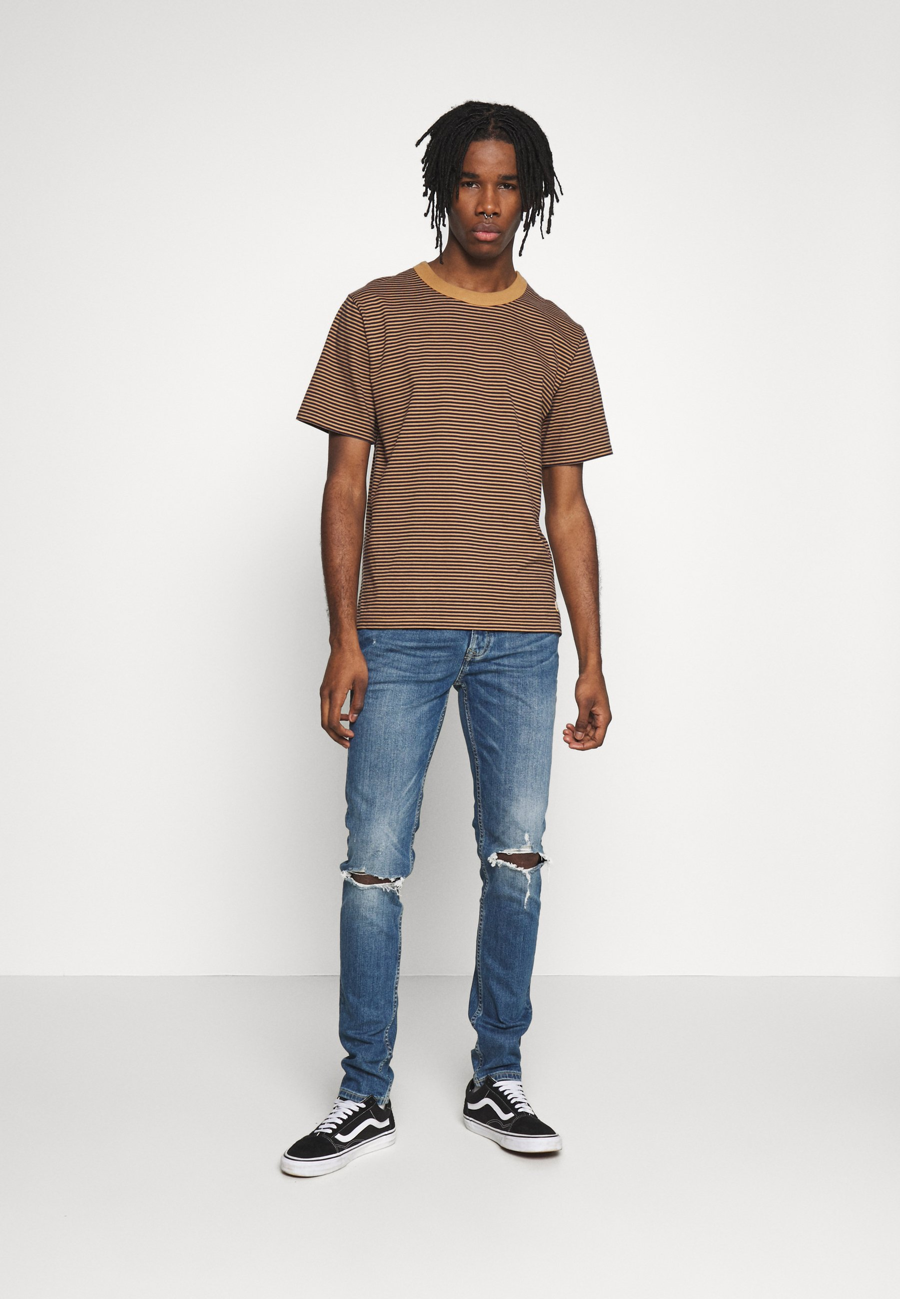 Topman Blowout - Jeans Skinny Fit Blue