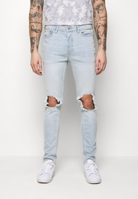 Topman - WASH EXTREME - Jeans Skinny Fit - light wash - 0