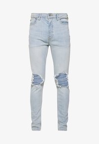 Topman - WASH EXTREME - Jeans Skinny Fit - light wash - 3