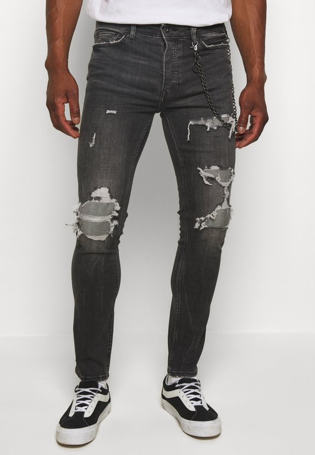 HEAVY RIP - Jeans Skinny Fit - black