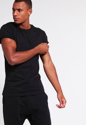 MUSCLE ROLLER - Basic T-shirt - black