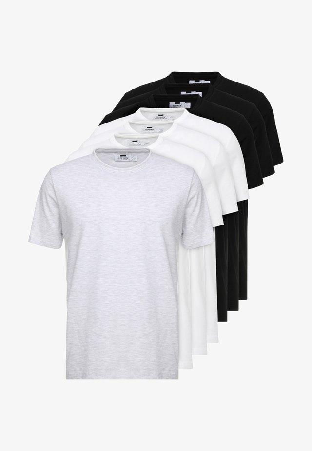 7PACK - T-shirt basic - multicoloured