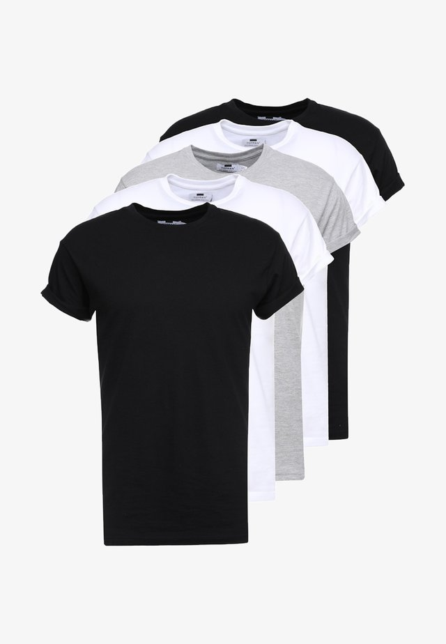 5 PACK MUSCLE ROLL - T-shirt basic - multicolored