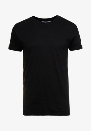 SKIN SLUB  - T-shirt basic - black