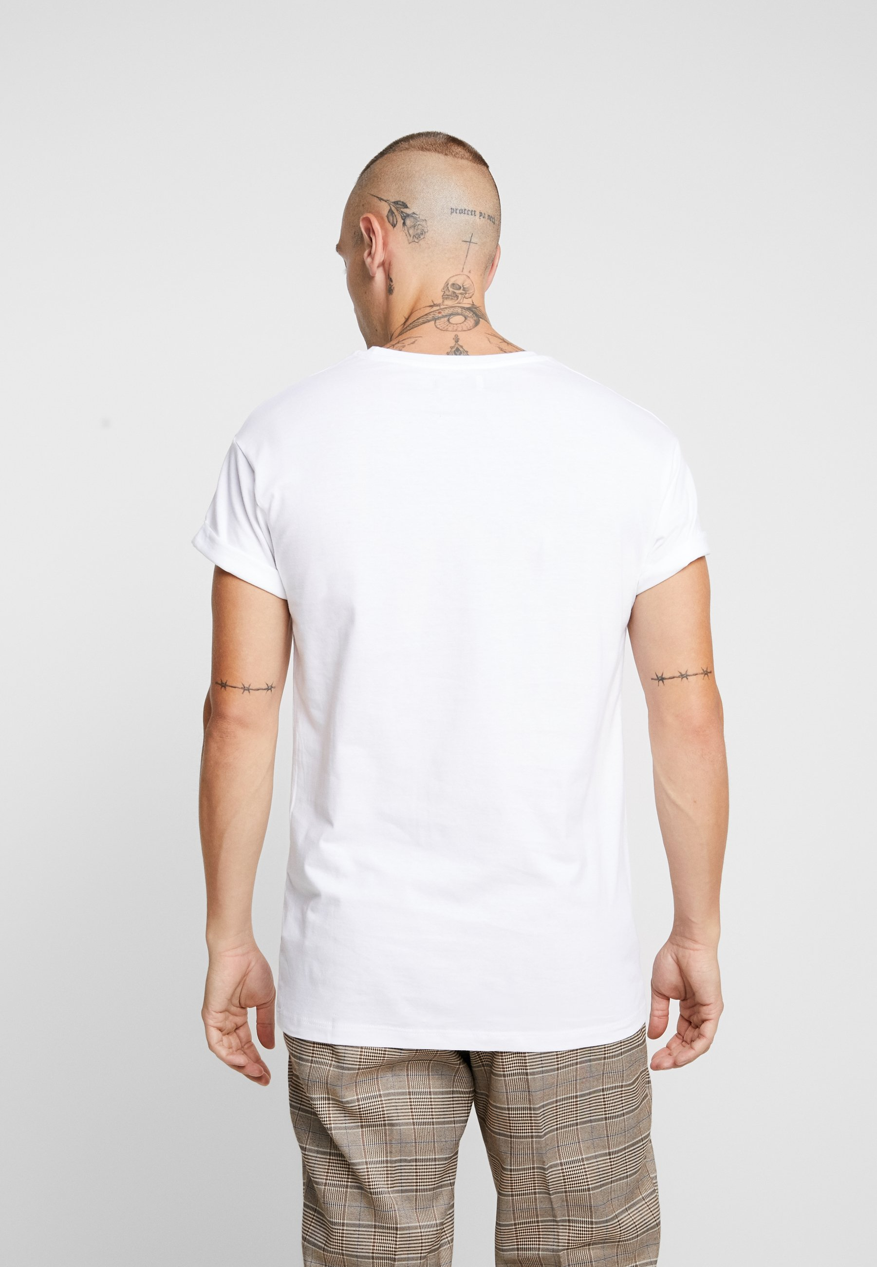 White Basique grey shirt Topman PackT 5 black hrsdCxBtQ