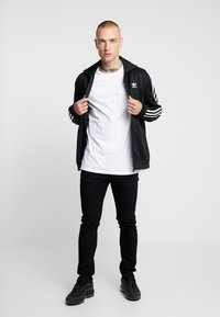 Topman - 7 PACK - Jednoduché triko - black/white/light grey melange - 1