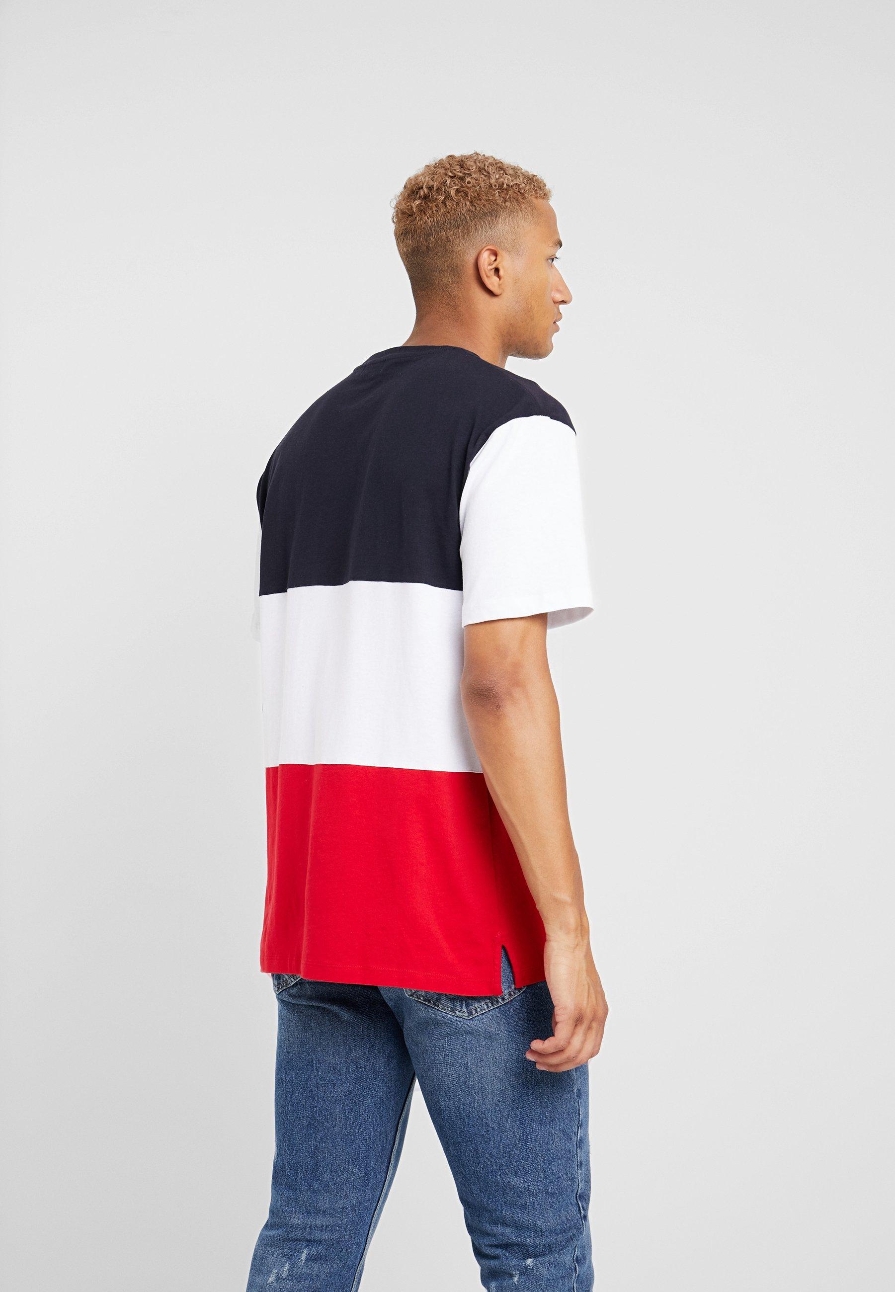 TeeT Imprimé Blox shirt Navy Topman On8wk0P