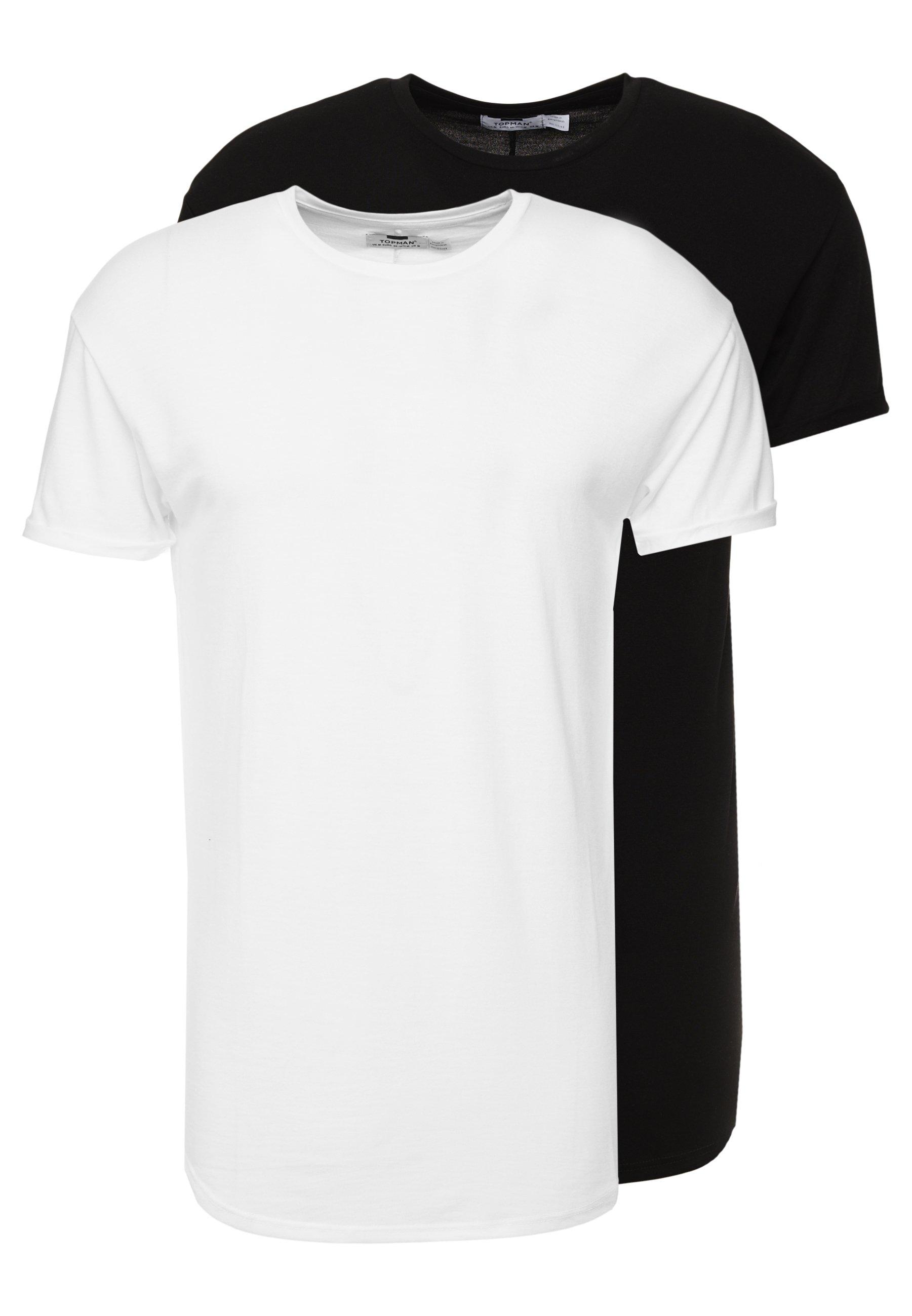 PackT white 2 Scotty shirt Black Basique Topman Ybf7gvy6
