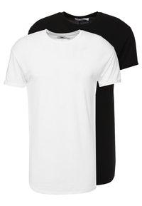 Topman - SCOTTY 2 PACK - Jednoduché triko - black/white - 0