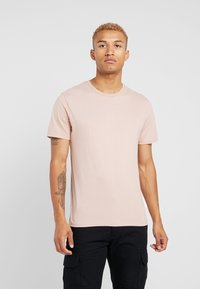Topman - 3 PACK - Jednoduché triko - blue/off-white/nude - 1