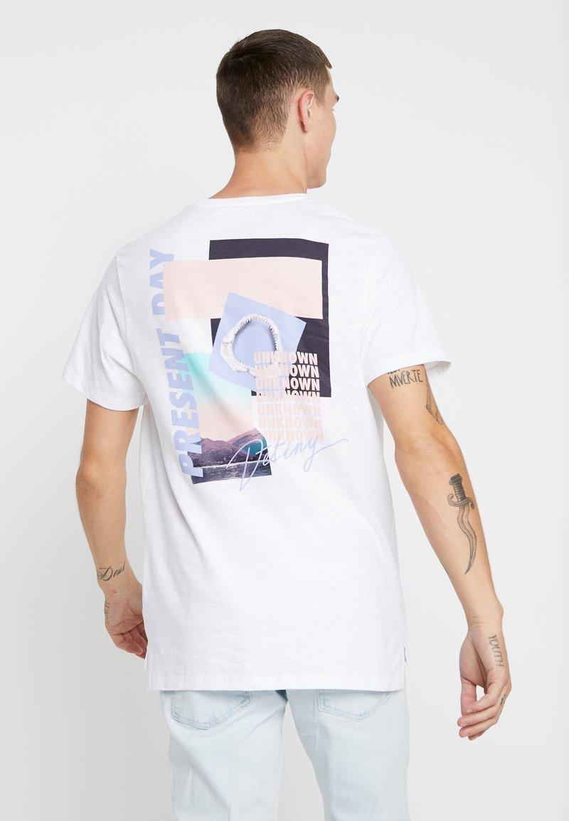 Topman - DESTINY TEE - T-shirts med print - white