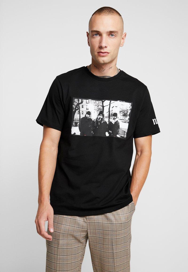 Topman - NAS ILLMATIC - T-shirt imprimé - black