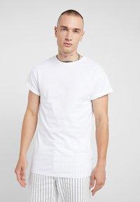 Topman - 2 PACK - Jednoduché triko - black/white - 2