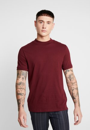ZINF TURTLE - T-shirts basic - bordeaux