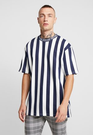 OFF SID  - T-shirt con stampa - navy
