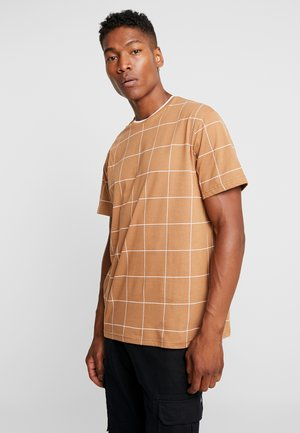 T-shirts print - brown