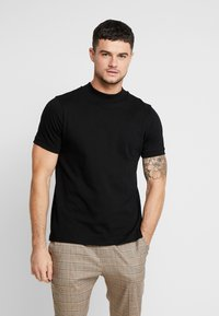 Topman - TURTLE - T-shirts - black - 0