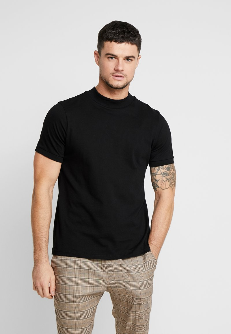 Topman - TURTLE - T-shirts - black