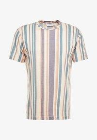 Topman - STRIPE SNIT - T-shirt con stampa - multi - 3