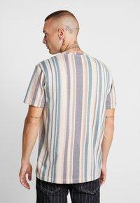 Topman - STRIPE SNIT - T-shirt con stampa - multi - 2