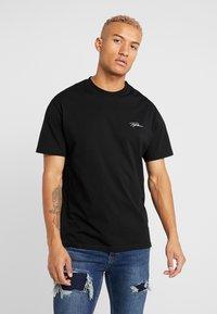 Topman - SIGNATURE TEE - T-shirt print - black - 0