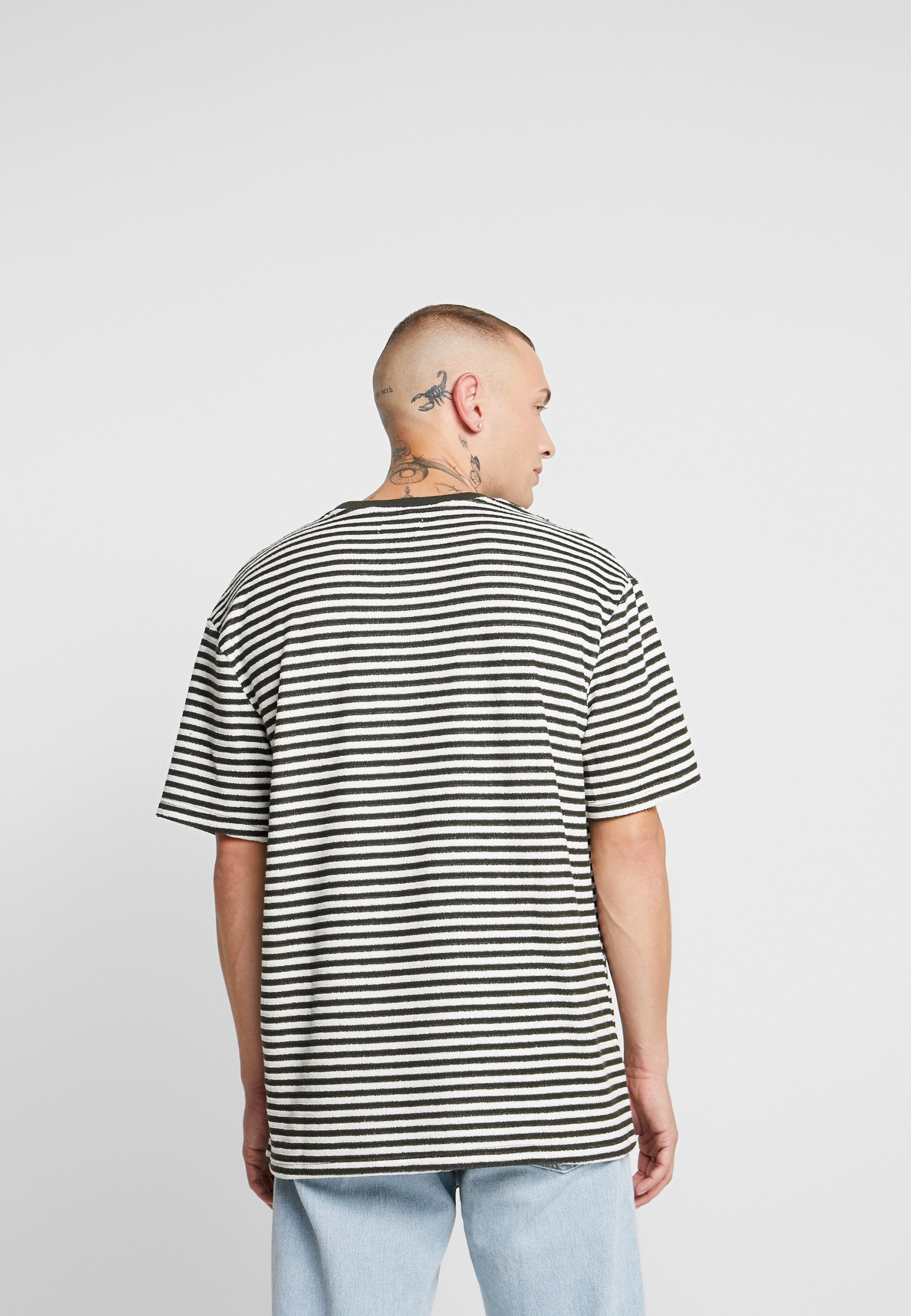 Khaki T Stampa Topman Con shirt mNw8n0